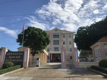 Trụ sở Viện kiểm sát nhân dân huyện Bù Đăng, tỉnh Bình Phước